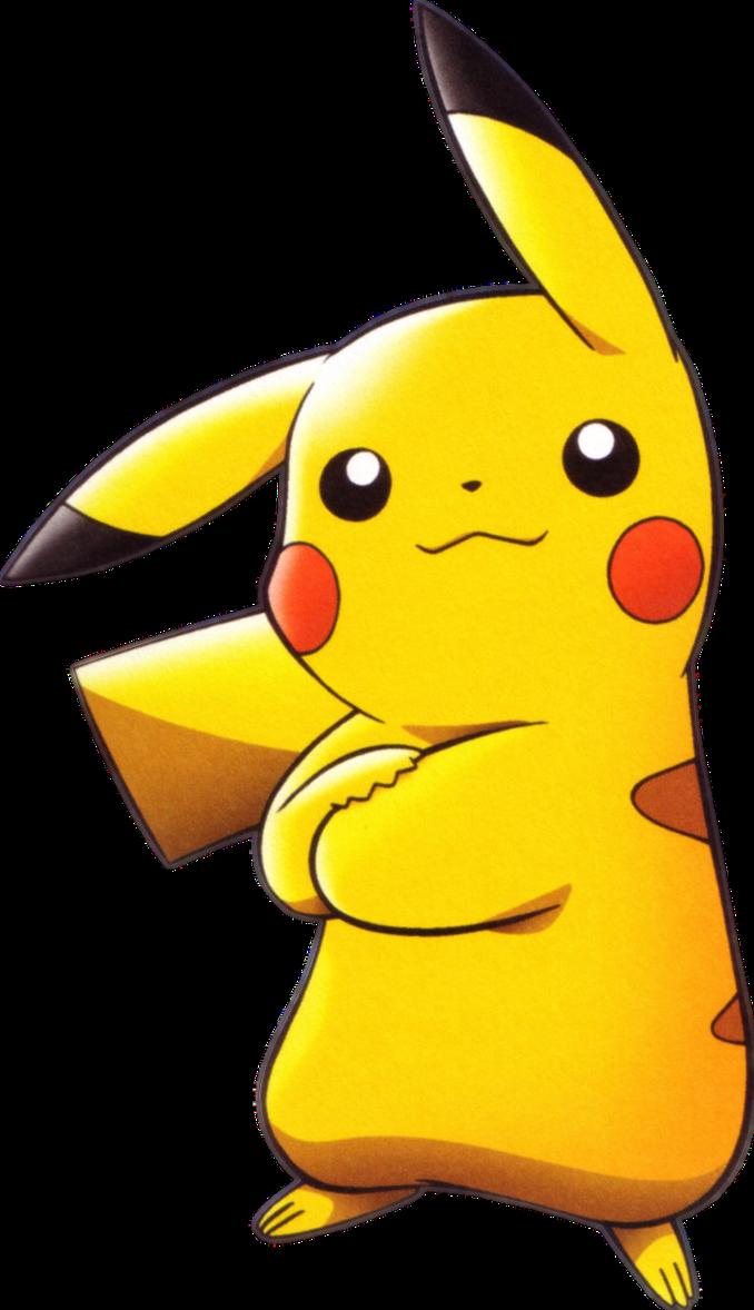 Pikachu Render By Kurotennyo On Deviantart Pokemon