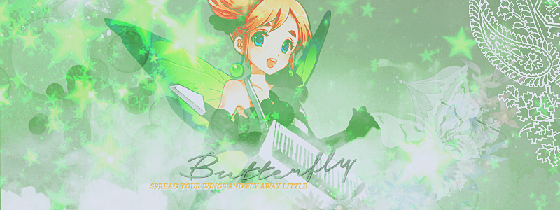 Facebook Cover - Butterfly by KuroTennyo
