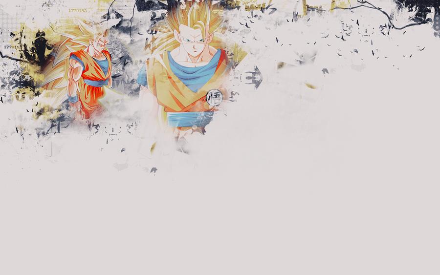 SSJ3 Goku - Wallpaper by KuroTennyo