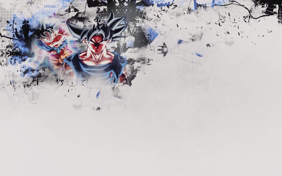 Goku Ultra Instinct - Wallpaper by KuroTennyo