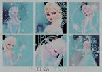 Elsa Iconset by KuroTennyo