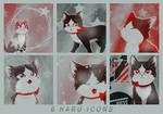 Haru Iconset by KuroTennyo