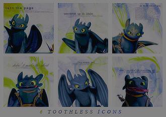 Icon Set - Toothless by KuroTennyo