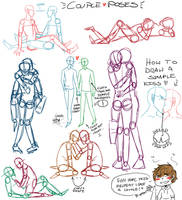 Couple poses by 0ffin