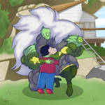 Centi and Steven by downgrade101