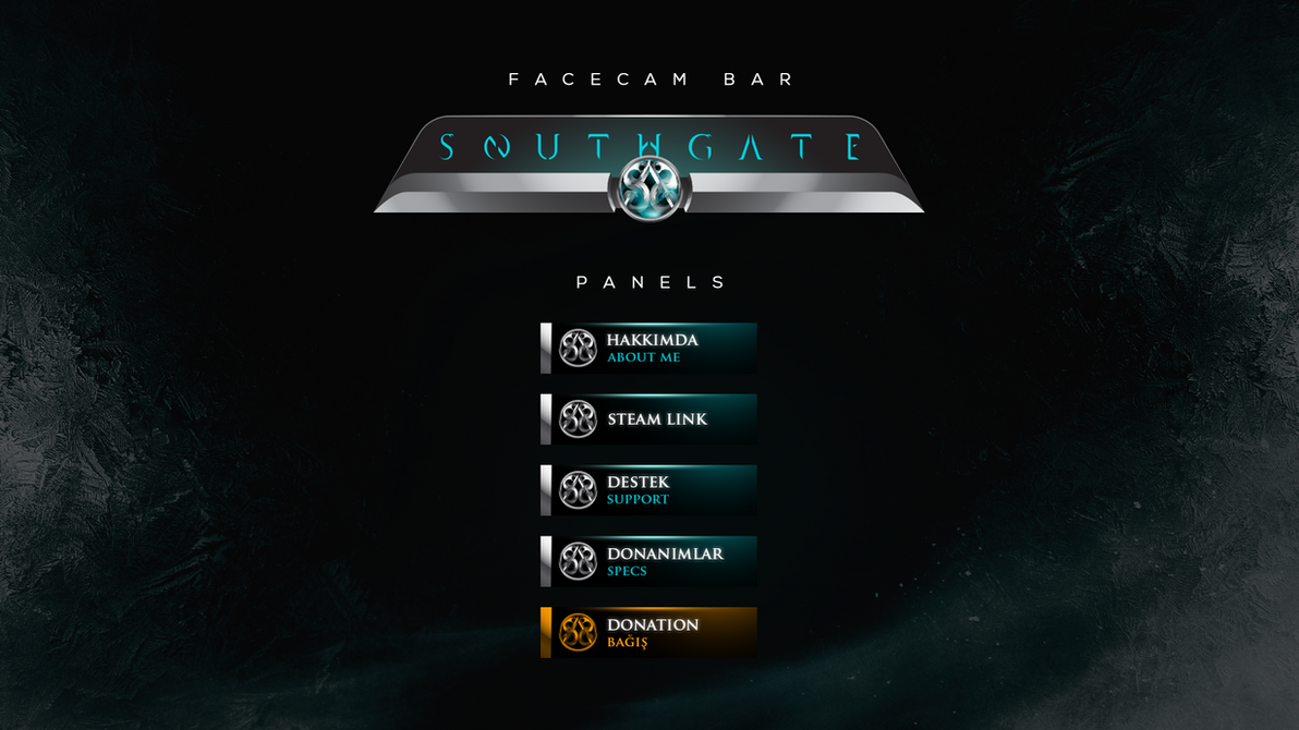 Southgate - E-Sport Visuals - Panels by Cihanberk