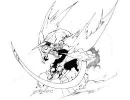 Dragon del abismo by Dark-Dag