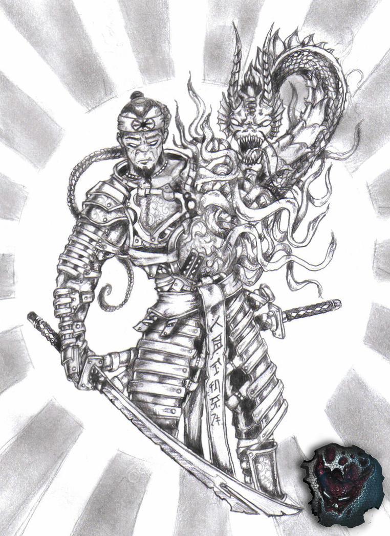 Dragon Samurai by ZleeZooDragon Samurai