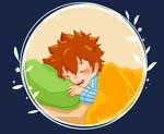 Good night, Tsuna by Rueclair