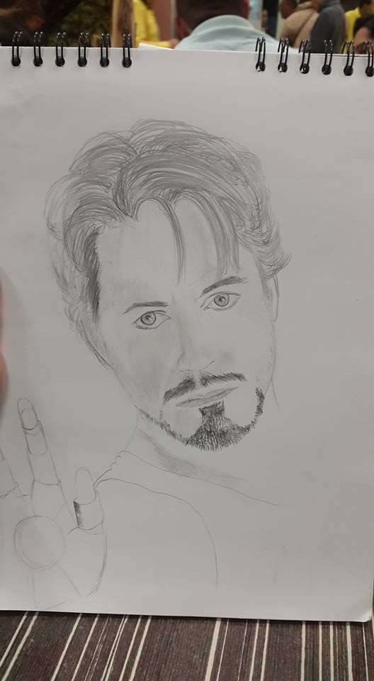 Tony Stark - in progress by jackal0199