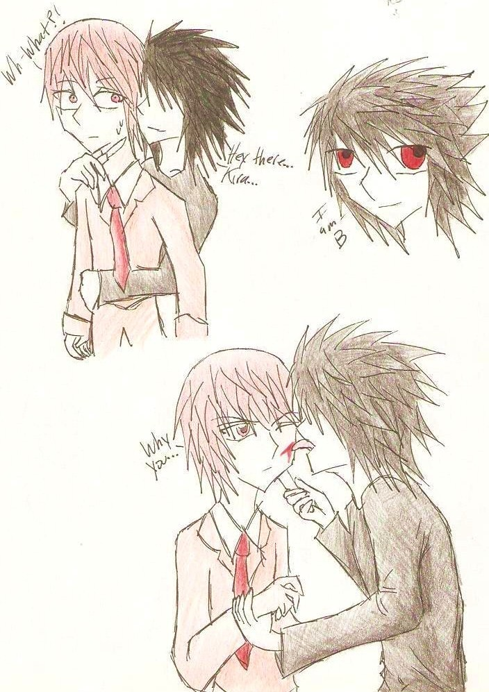 If B N Kira Ever Met... by Takabi-Tenshi