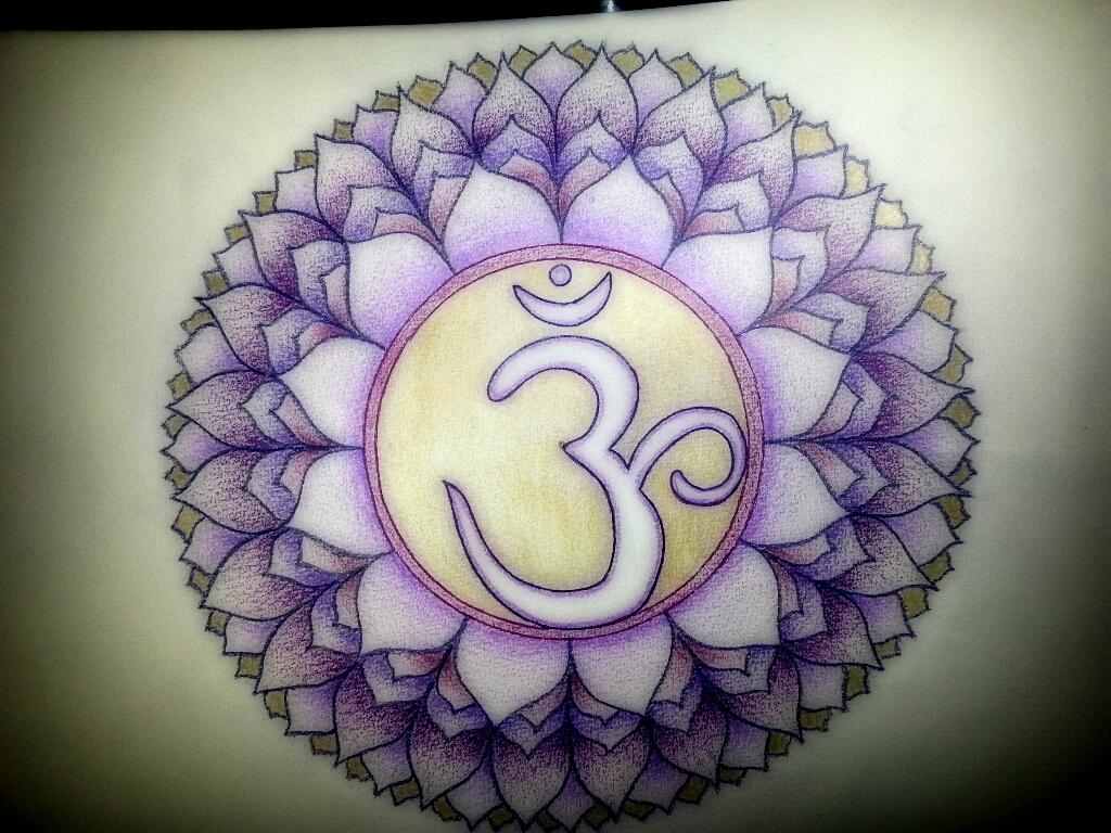 crown chakra mandala by TamaraButterfly on DeviantArt