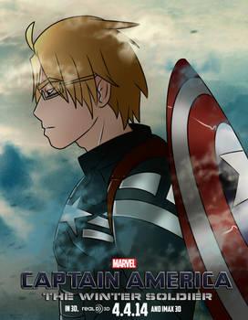 [Hetalia] Captain America Movie Poster