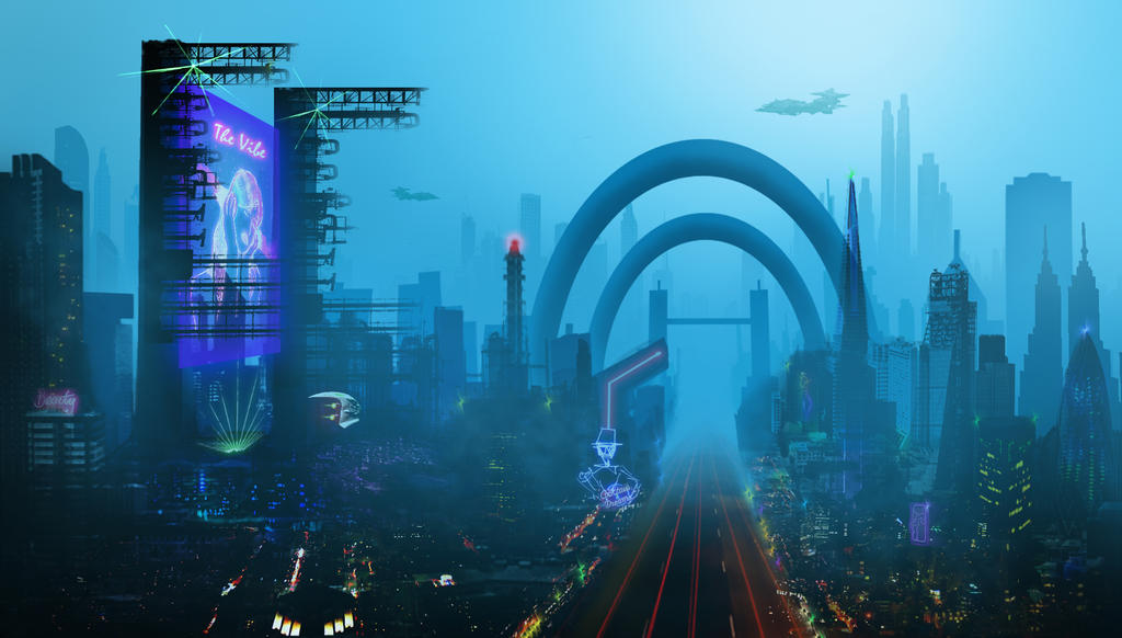 Cybercity by Concept2Canvas