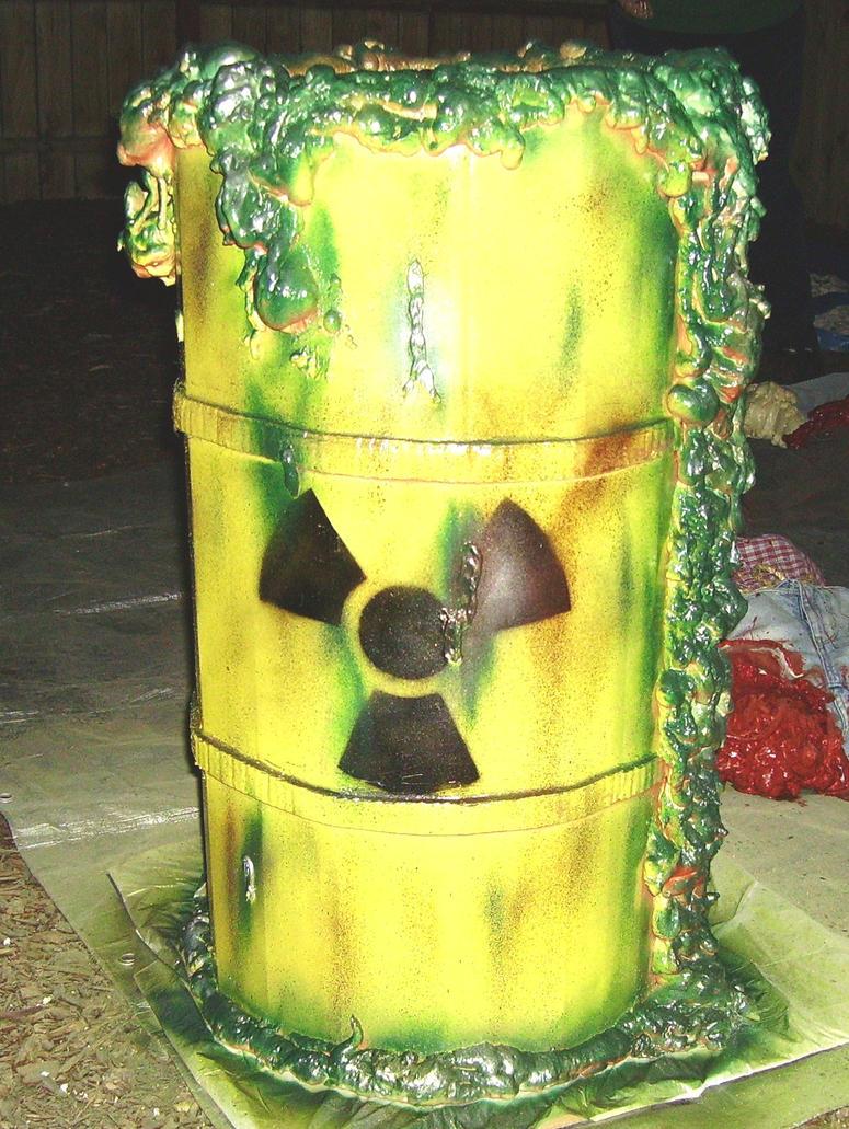 Halloween Props, Nuclear Waste Barrel by CapDon on DeviantArt