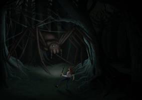 Nightmare Fuel - Spider