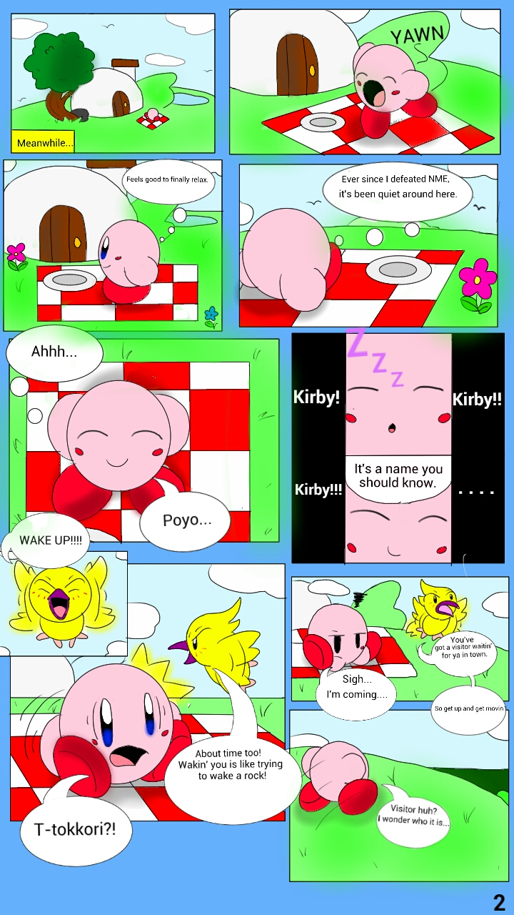 Kirby: Legend of the Star Orbs page 2 by kirbyfan88 on ...