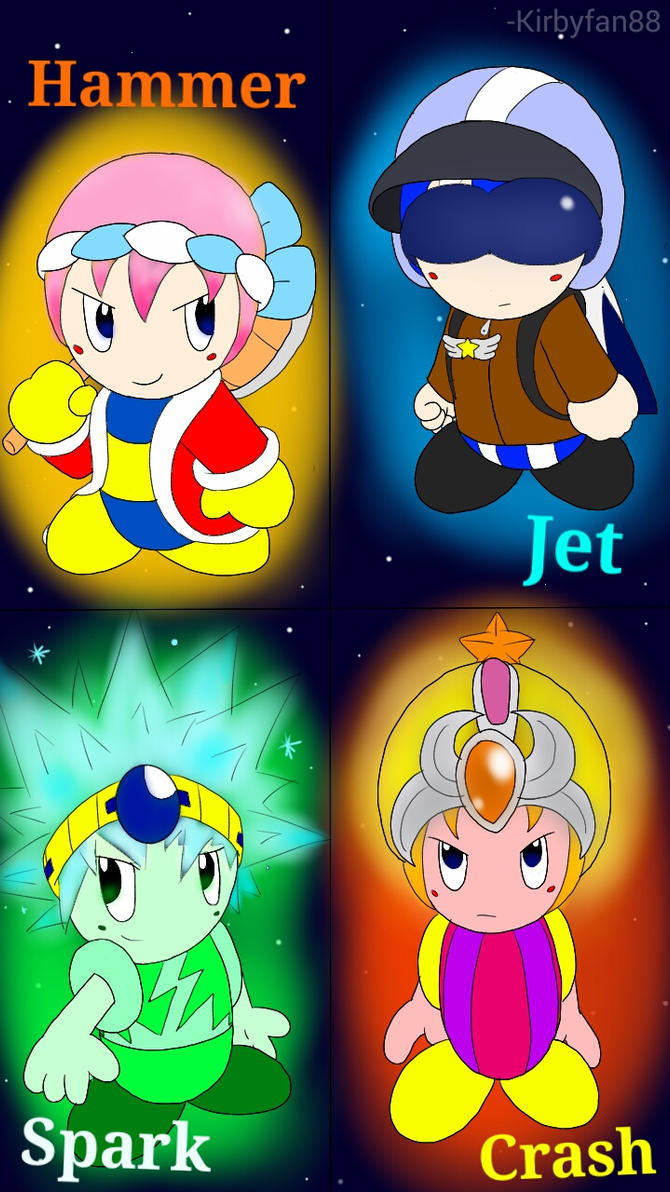 Evolved Kirby Copy Abilities: Set 2 (Part 2) by kirbyfan88 ...  Evolved Kirby C...