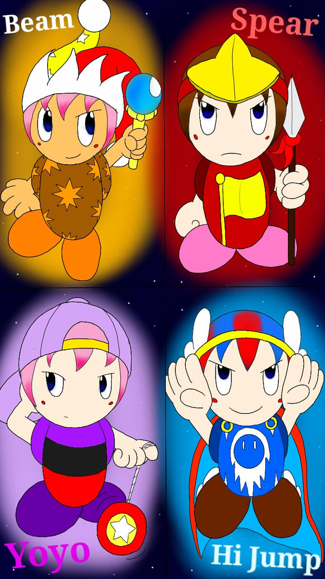Evolved Kirby Copy Abilities: Set 3 (Part 1) by kirbyfan88 ...  Evolved Kirby C...