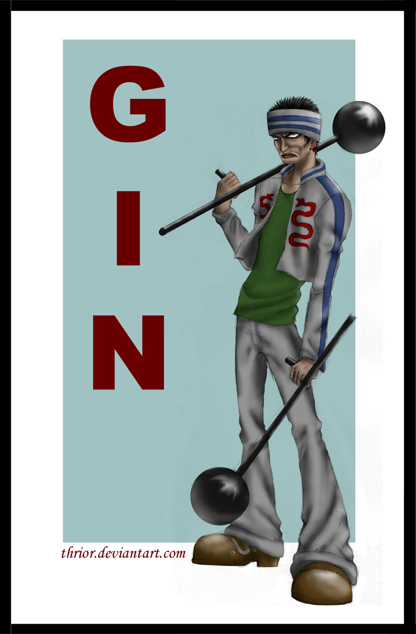 Op Gin The Man Demon By Thrior On Deviantart