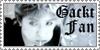 Gackt fan stamp by kesirui