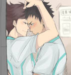 Don't be shy, Iwa-chan~