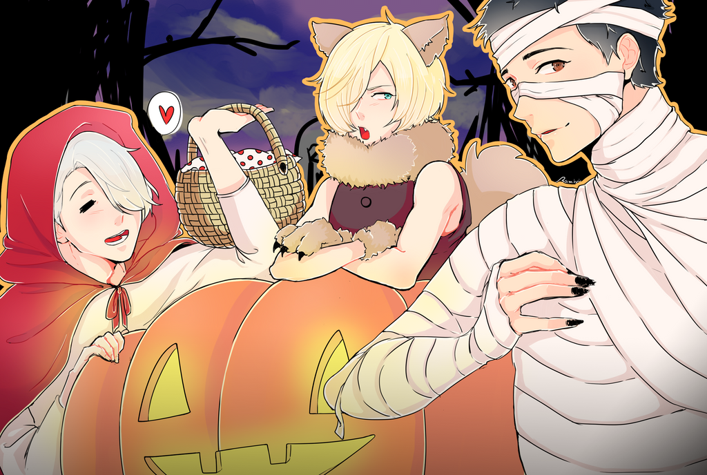 Happy Halloween! by satoo-yuki