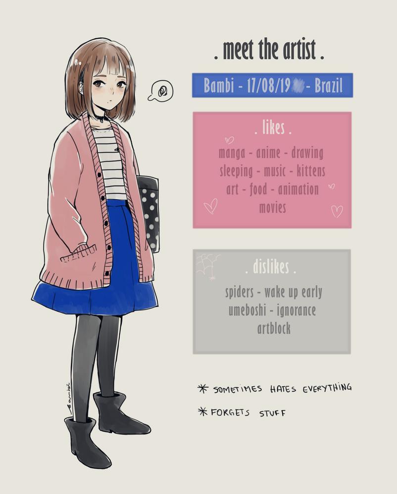 Meet the artist by satoo-yuki