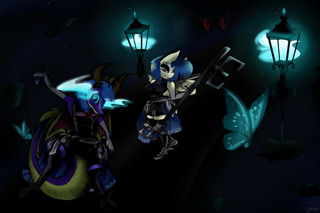 Dark's Puppets of Dark World (OP RP) by Midnight-Devilwitch