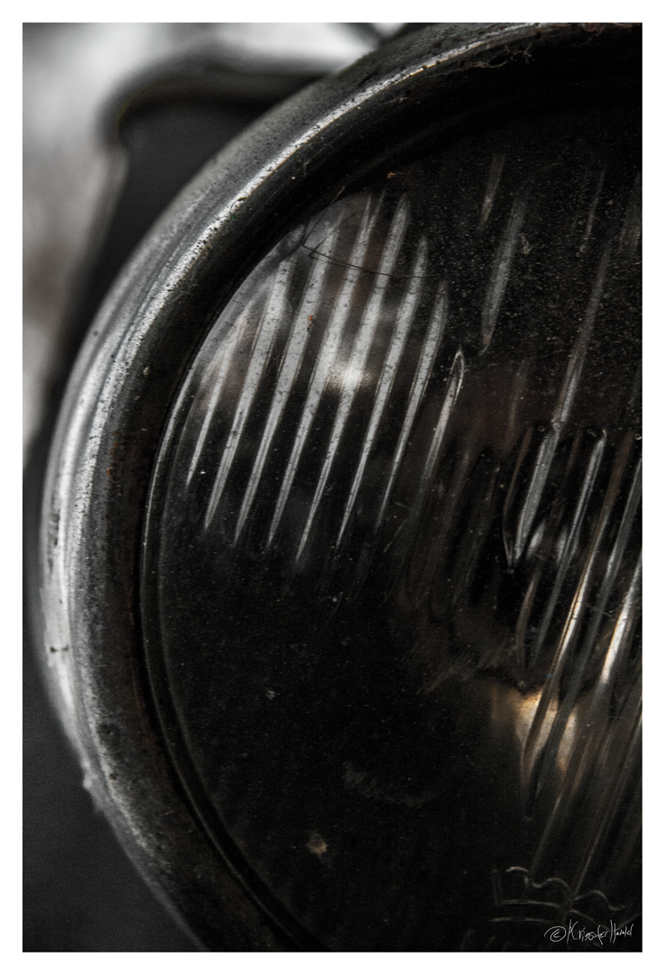 Old Moped Light by elforg