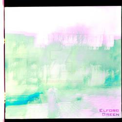 Elforg - Green (Album Cover)