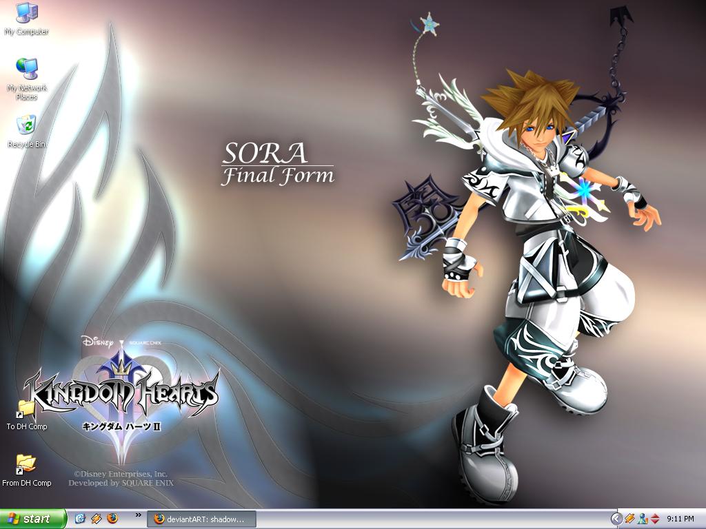 KH2 Sora Final Drive Form by shadowheartless on DeviantArt