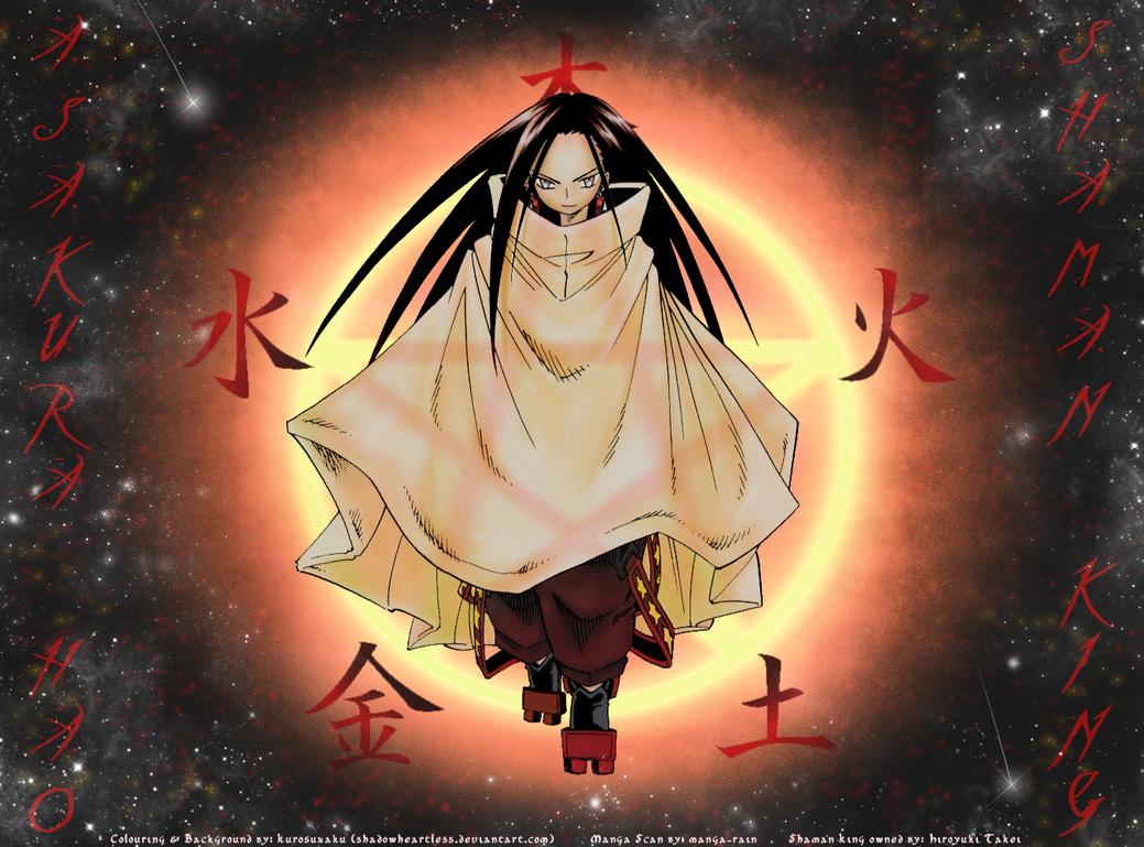Born from a Star - Asakura Hao by shadowheartless