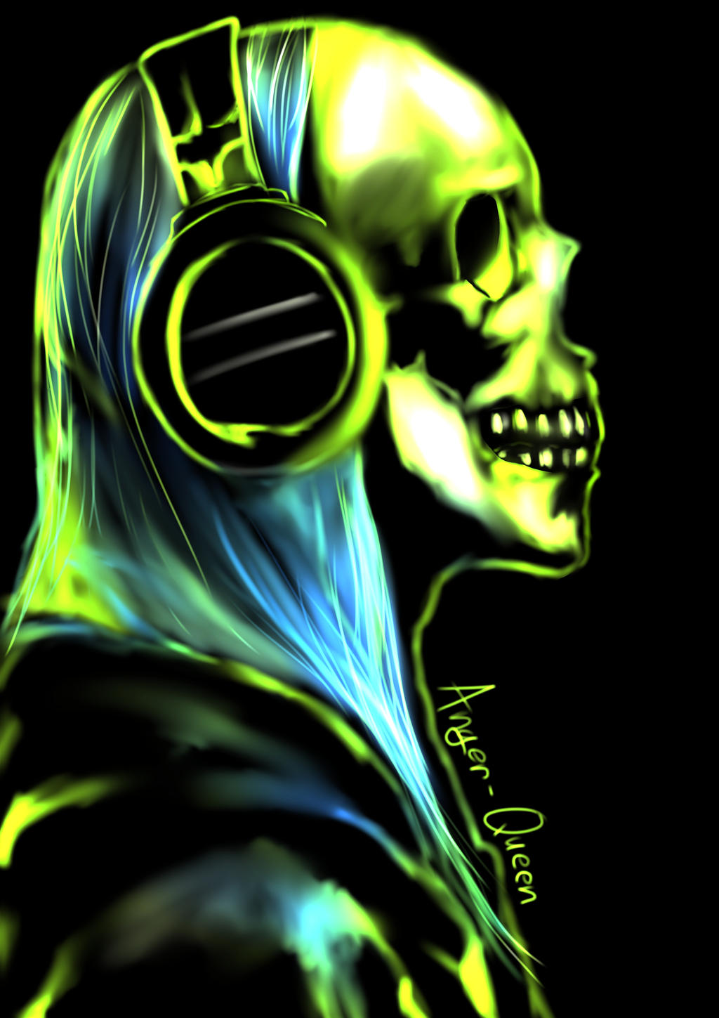 Rock Skull by Anger-Queen