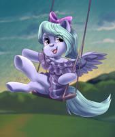 Flitter pony by HollyBright