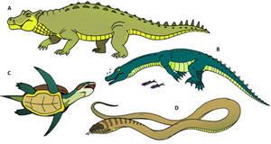Speculative reptiles (II)