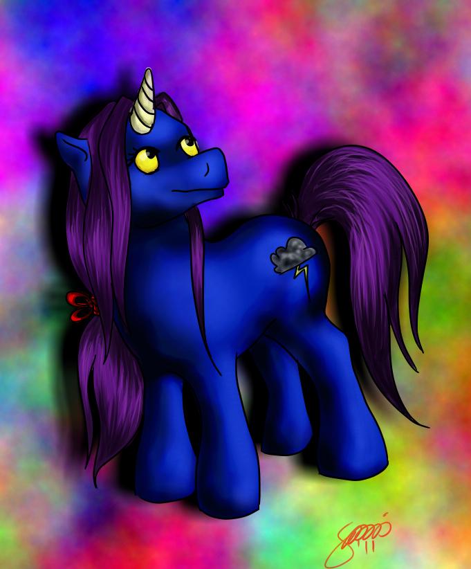 Magical legend pony by SanniRii