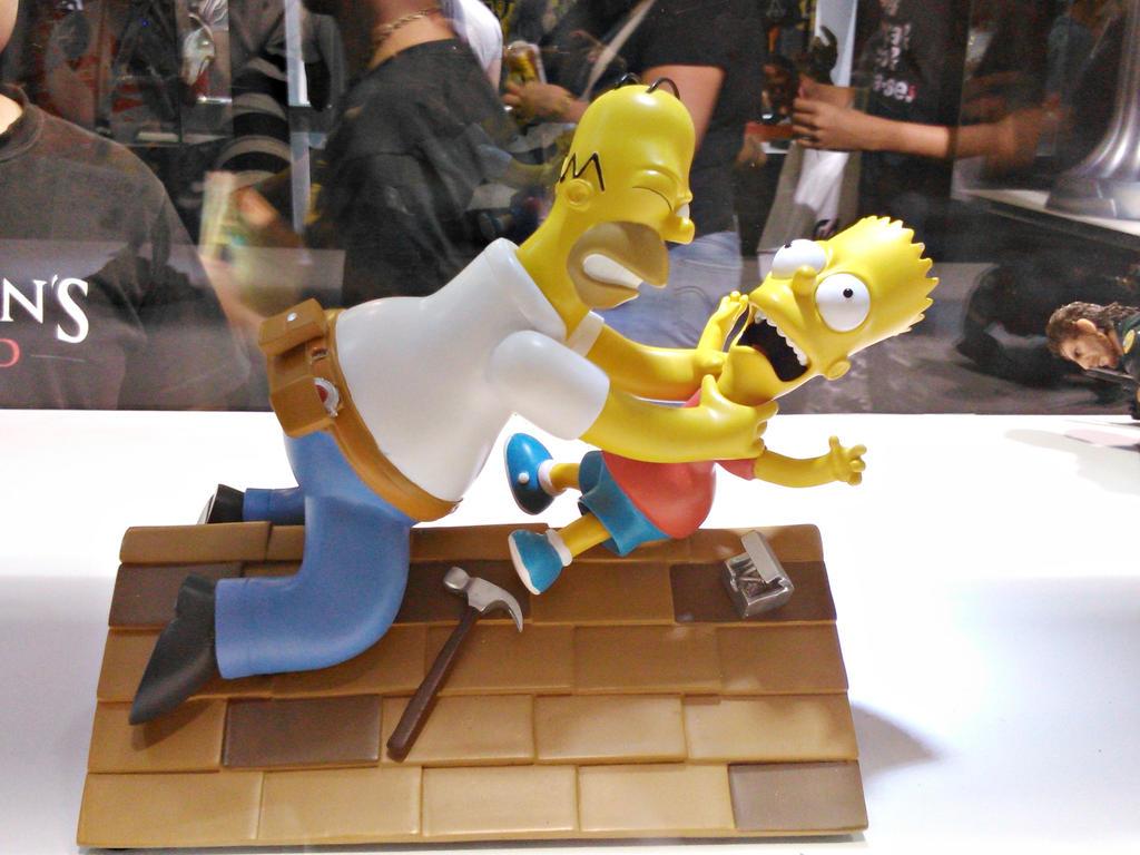 The Simpsons by KazePhotos