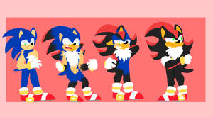 Sonic Catches The Emo (Shadow TF)