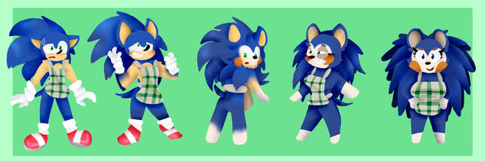 Sonic to Mabel TF TG (Paypal Commission)