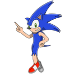 Sonic the Hedgehog (Redesign) by TrueVisionary01