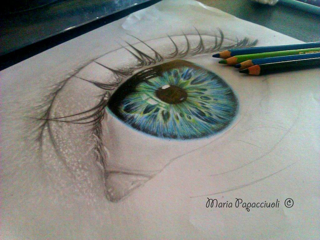 Eye - Work in progress by MariArt91