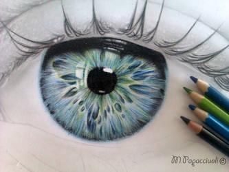 Eye - work in progress 2 by MariArt91