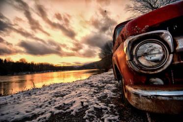 River Truck by Bawwomick