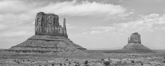 Marking the Entrance to Monument Valley