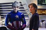 Captain Frost and Tony Rider