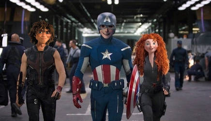 Hawguy, Captain Frost and Meriblack Widow by JOSGUI