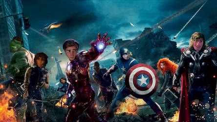 The Avengers by JOSGUI