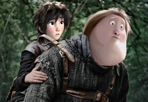 Riding Hodor by JOSGUI