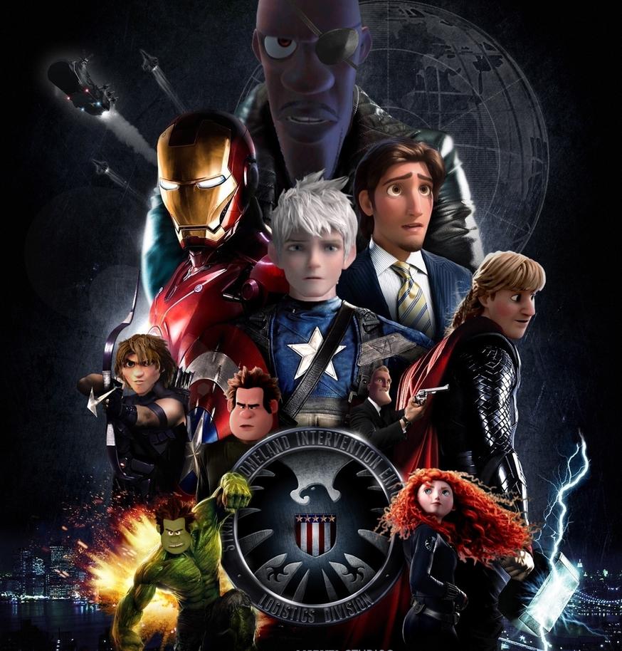 Good Wallpaper Marvel Deviantart - avengers_assemble_by_josgui-d9i89op  Pic_132779.png